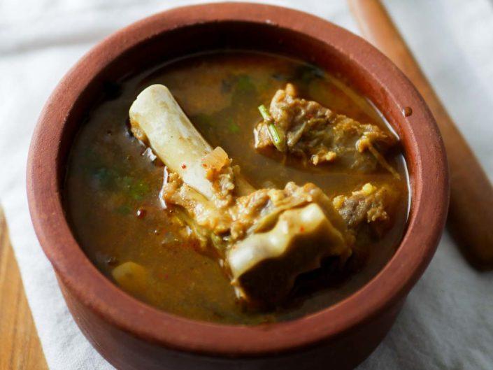Mutton Bone Soup